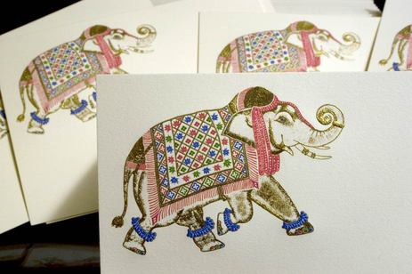 Elephant Theme Availing Royal Look to Indian Wedding Cards – Royal Indian Wedding Cards